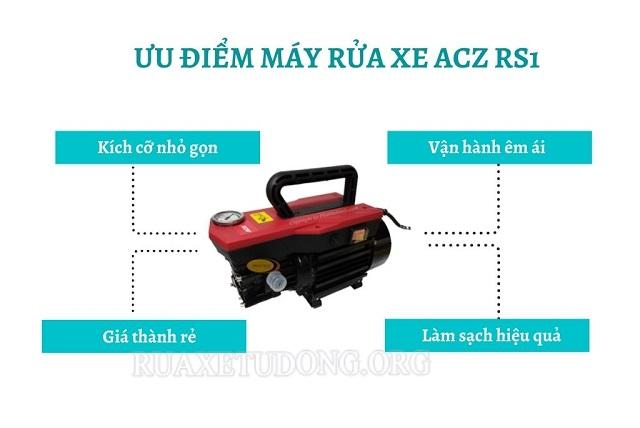 Ưu điểm máy rửa xe ACZ RS1
