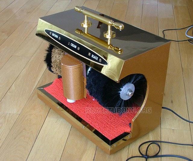 máy đánh giày shiny