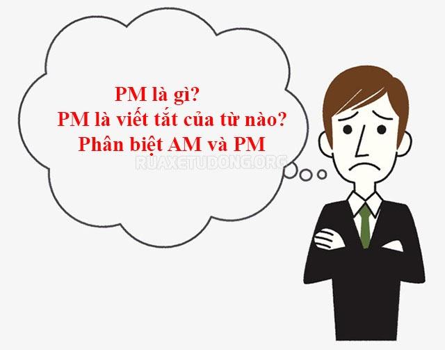 pm là gì